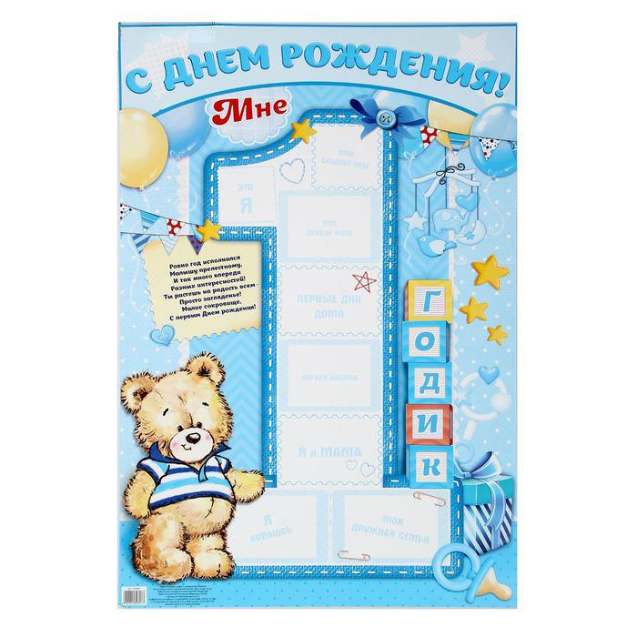 бесплатные шаблоны на день рождения 1 годик зависимости характера личных