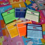 Купить кармашек в детский шкафчик в детский сад для крючков